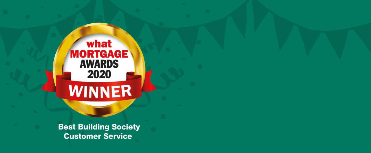 what Mortgage Awards 2020 Winner - Best Building Society Customer Service