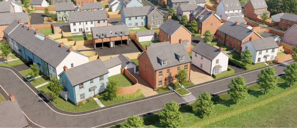 Image of The Grove development, coming to Abergavenny
