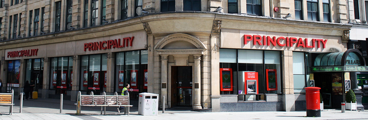 Principality Building Society Queen Street Branch