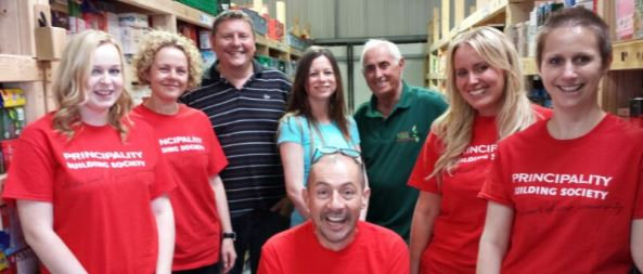 Principality at Foodbank