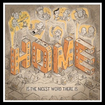 Home is the nicest word there is by David Gray