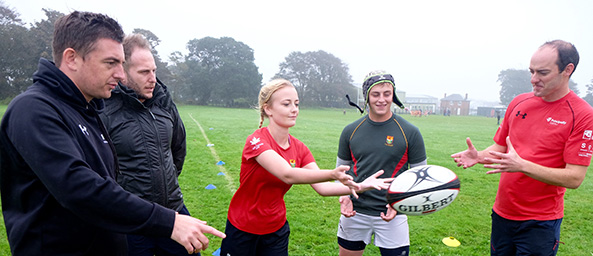 Rugby coaching with the School of Hard Knocks