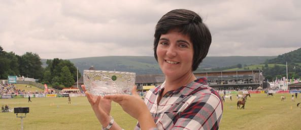 Wales Woman Farmer Award Winner, Abi Reader