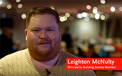 Leighton McNulty - Principality Build Society Member Rewards