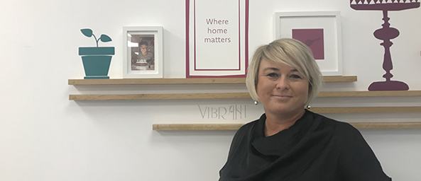 Image showing Niki Willacott, New Build Business Development Manager for Principality Building Society