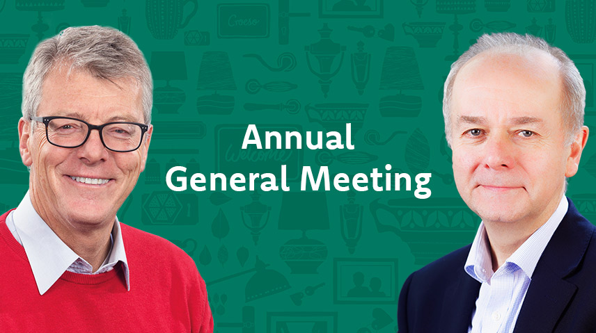 Annual General Meeting - Click here to listen to speeches by the Chair and CEO