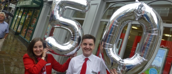 Shrewsbury Branch turns 50