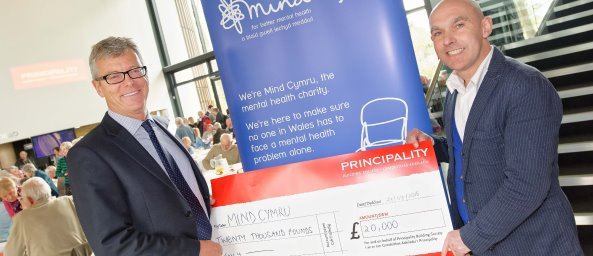 Mind Cymru, Charity of the year