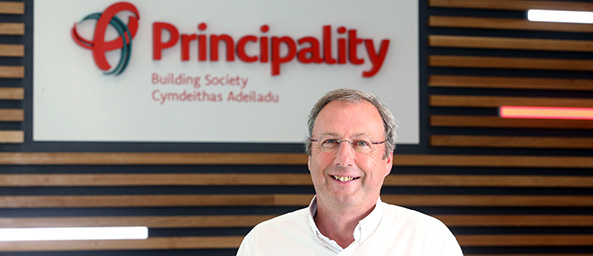Graeme Yorston, CEO of Principality Building Society