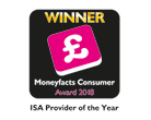 Moneyfacts Consumer Award 2018